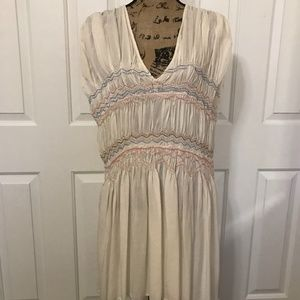 "FREE PEOPLE ""Love On The Run"" Dress, Ivory, M"